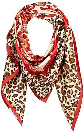 Amazon.com: Lake Como SCARVES - Spotted Skin Scarves - Red Shades: Clothing