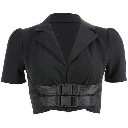 Buckle Jacket Top - Own Saviour