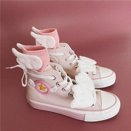 Japanese Anime Cardcaptor Sakura Winged Shoes SD01275 – SYNDROME - Cute Kawaii Harajuku Street Fashion Store