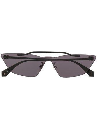Off-White Metal Mask Solglasögon Med Geometriska Bågar - Farfetch