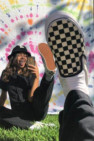 Vans Checkerboard Slip-On Sneaker | Urban Outfitters