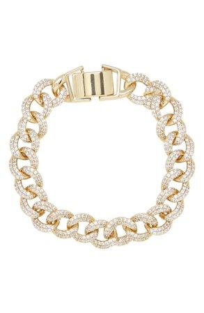 Ettika Crystal Chain Bracelet | Nordstrom