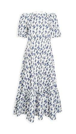 Sister Jane Wisteria Tie Back Midi Dress   SHOPBOP