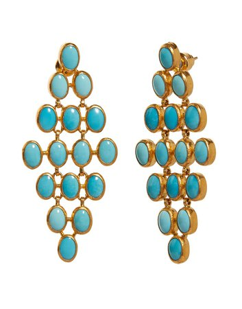 Turquoise Chandelier Earring | Marissa Collections