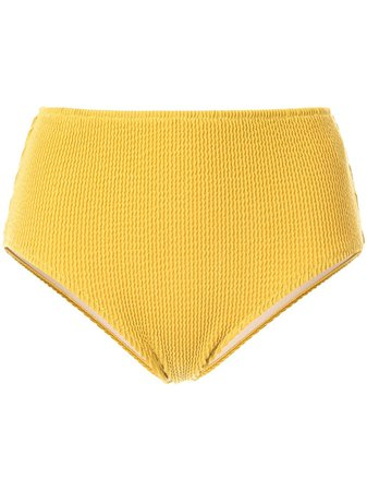 Muller Of Yoshiokubo Rib Bikini Bottom MLS19908 Yellow | Farfetch