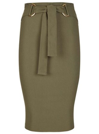 *Vesper Belt Pencil Skirt | Dorothy Perkins