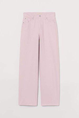Jeans High Waist - Pink