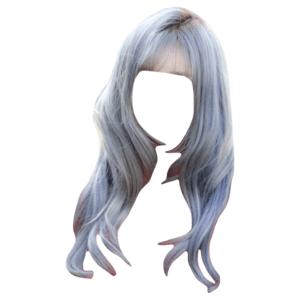 blue hair png