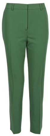 Green Ankle Grazer Trousers