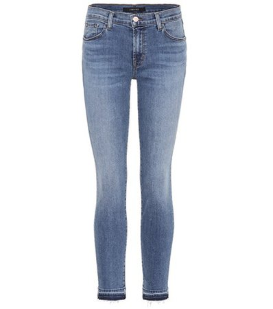 811 mid-rise skinny jeans