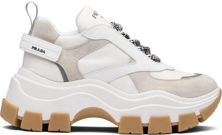 Block chunky sneakers