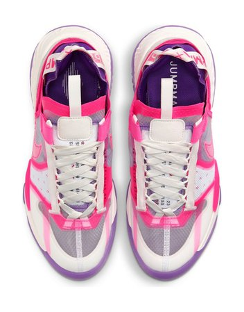 Nike Jordan Delta Breathe sneakers in sail, hyper pink, and fierce purple | ASOS