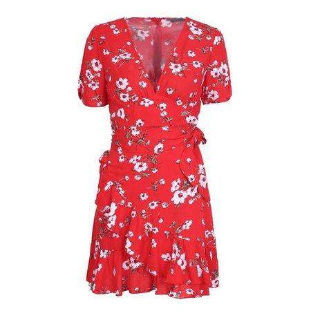 Mamrie Floral Spring Dress – shopdevi