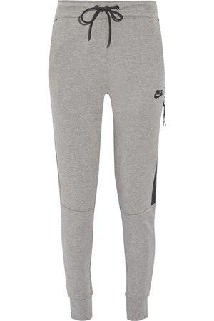 Nike | Tech Fleece cotton-blend track pants | NET-A-PORTER.COM