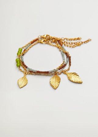 Mixed bracelet set - Woman | Mango Slovakia