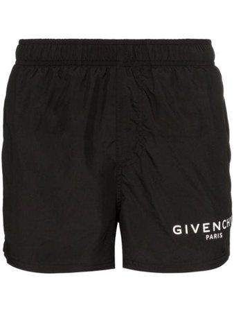 Givenchy Logo Drawstring Swim Shorts - Farfetch