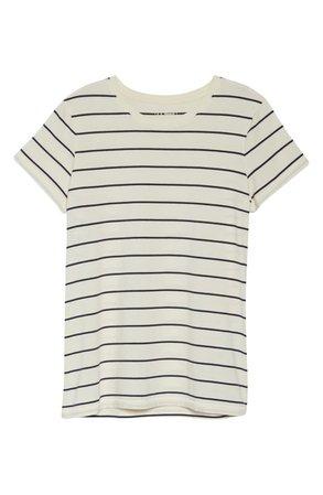 L.L.Bean Soft Stripe Supima® Cotton T-Shirt   Nordstrom