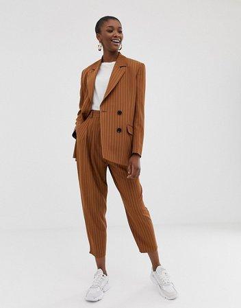 ASOS DESIGN pinstripe tapered suit | ASOS