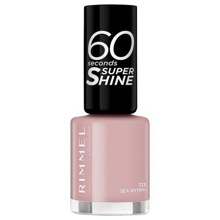 Rimmel 60 Seconds Super-Shine Nail Polish (Various Shades) | Free Shipping | LOOKFANTASTIC