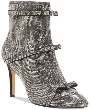 INC International Concepts INC Women's Isauria Bow Bling Booties, Created for Macy's & Reviews - Boots & Booties - Shoes - Macy's