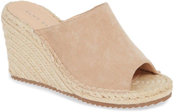 Mused Espadrille Wedge Slide Sandal