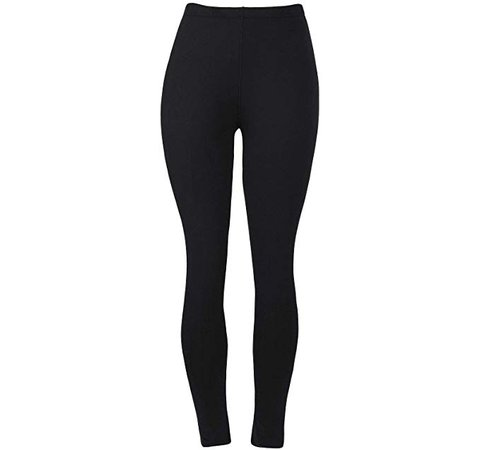 Womens Super Soft Leggings for Ladies Fashion Cute Spandex Seamless Ankle Pants Color Black Size XS S M at Amazon Women's Clothing store