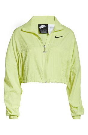 Nike Sportswear Swoosh Crop Jacket   Nordstrom