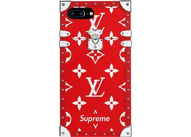 Louis Vuitton x Supreme iPhone 7