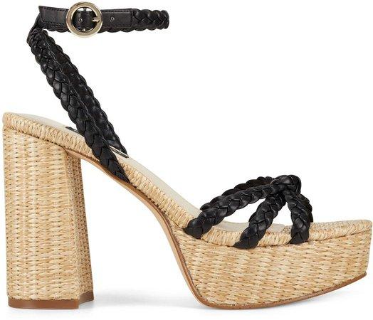 Rylin Block Heel Ankle Strap Sandals
