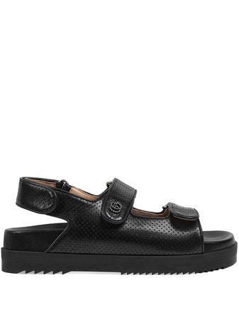 Gucci Double G touch-strap sandals - FARFETCH