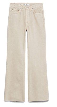Mango Cream Jeans