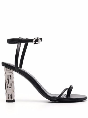 Givenchy buckle-fastening Leather Sandals - Farfetch