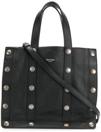 studded tote bag