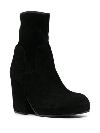 Random Identities chunky-heel ankle boots - FARFETCH