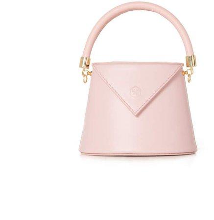 Nina Hauzer The Bianca Bucket Pink Bag