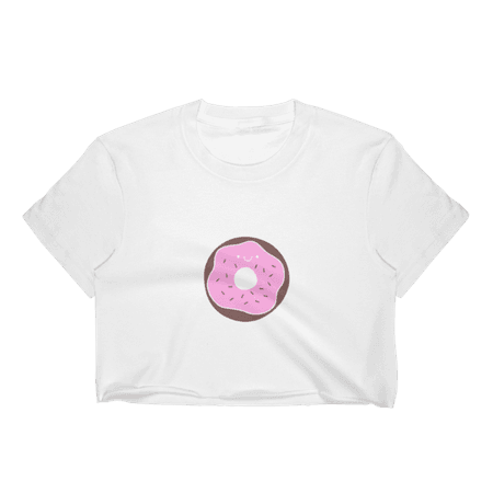 Fashiontage - Donut Crop Top - 728019894333