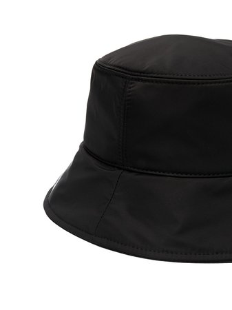 Moncler Embroidered Logo Bucket Hat - Farfetch