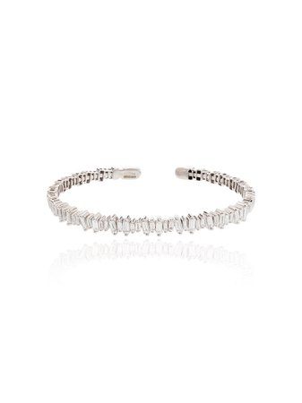 Suzanne Kalan Classic Fireworks 18kt white gold bracelet - Farfetch