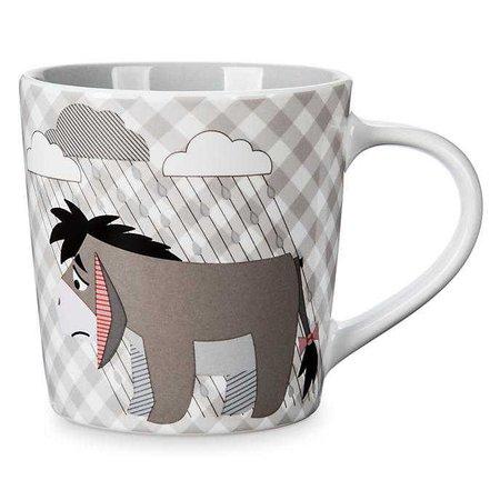 Disney Store Eeyore Gingham Mug