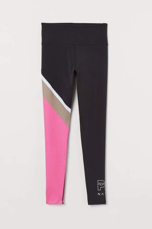 Sports Leggings High Waist - Black