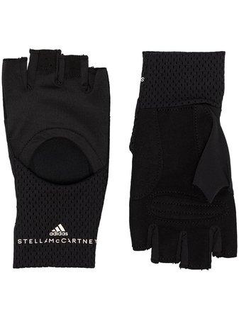 Adidas By Stella McCartney cut-out Training Gloves - Farfetch