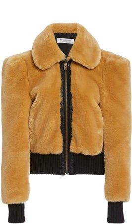 Philosophy di Lorenzo Serafini Faux Fur Cropped Jacket