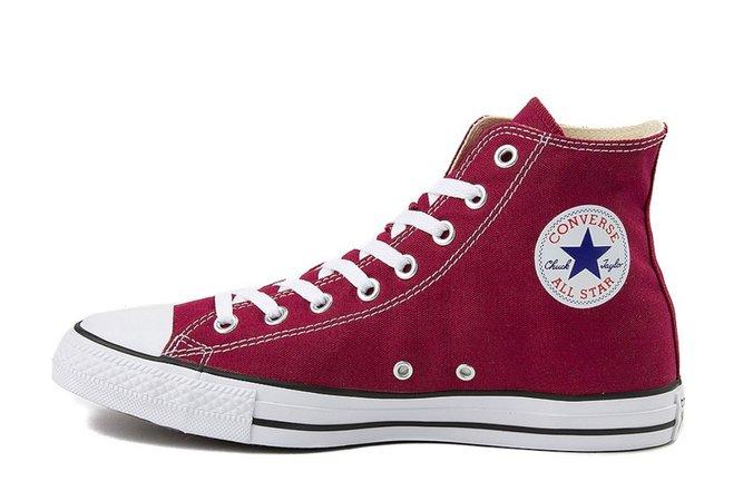 crimson converse