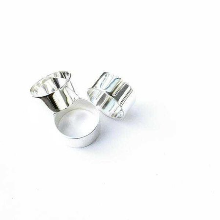 Rings | Shop Women's Silver Slim Round Ring at Fashiontage | AGA351SS4
