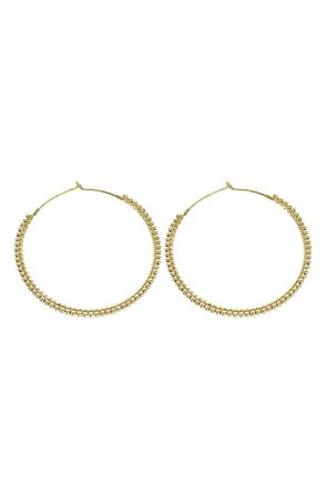 Panacea Ball Line Hoop Earrings | Nordstrom