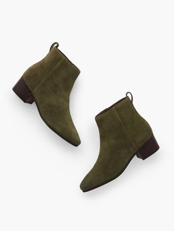 Dakota Ankle Boots - Suede | Talbots