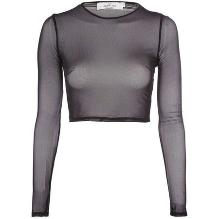 mesh shirt polyvore - Google Search