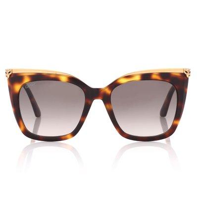 Panthère De Cartier Square Sunglasses   Cartier Eyewear Collection - mytheresa