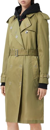 Oban Double Breasted Trench Raincoat