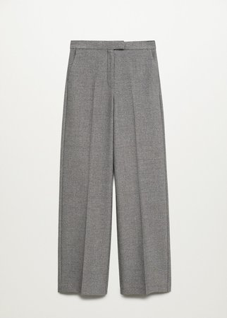 Pleated suit trousers - Women | Mango United Kingdom